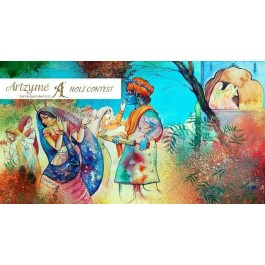 Artzyme Holi Painting Contests 2016