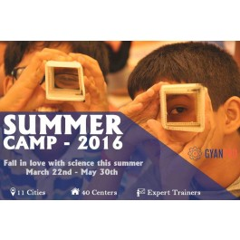 GYANPRO'S SCIENCE SUMMER CAMP -  AECS Layout