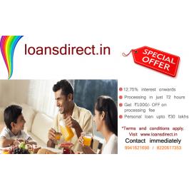 Fast Cash Personal Loan Upto 20 lakhs
