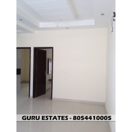 3 BHK West Facing Home in Mohali