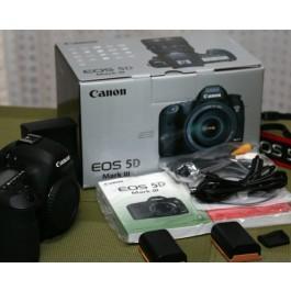 Canon EOS 5D Mark III 22.3MP DSLR Camera w/ 24-70mm Lens Kit
