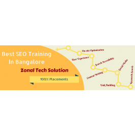 Globally Certified SEO Training from Zonal Tech Solution with 100% Placement