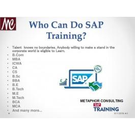 SAP - ERP BEST TRAINING & PLACEMENT CENTRE