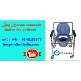 Buy Karma Commode Chair, Commode chairs in Hyderabad - Hospitalbedindia