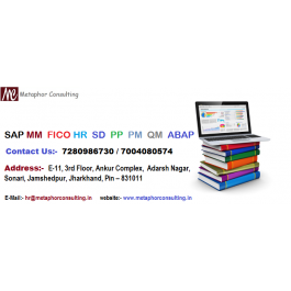 SAP ERP Course Training Program in Metaphor Consulting Sonari