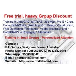 MATLAB- AutoCAD- Pro E training in Allahabad