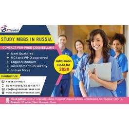 Study MBBS In Russia For Indian Students | AV Global Overseas