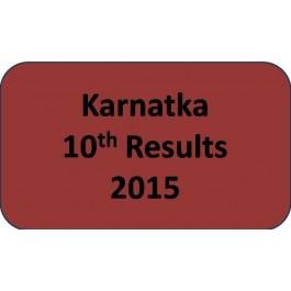 Karnatka Board Class 10th Results 2015