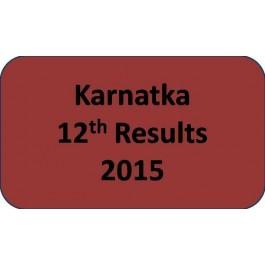 Karnatka Board Class 12th Results 2015