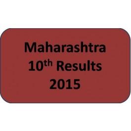 Maharashtra SSC Class 10th Results 2015