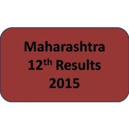 Maharashtra HSC Class 12th Results 2015