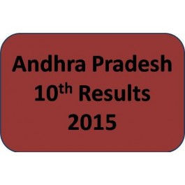 Andhra Pradesh SSC 10th Results 2015