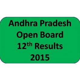 Andhra Pradesh open board 12th class Result 2015