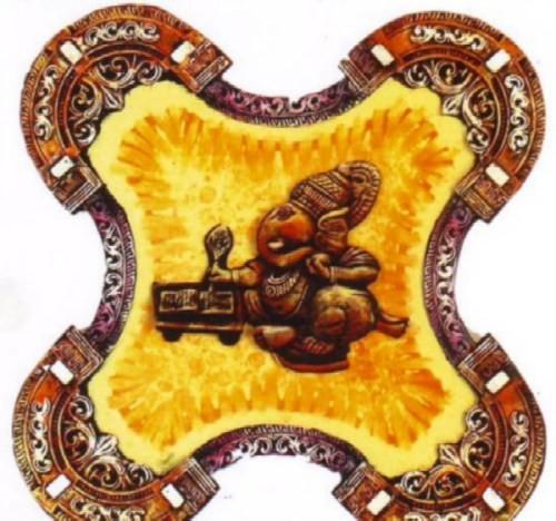 Ceramic murals and mural classes india art painting for Ceramic mural art