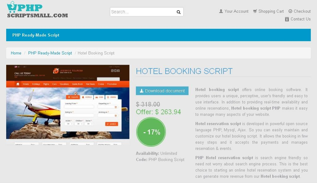 Hotel booking php software ideasmediaget for E booking hotel