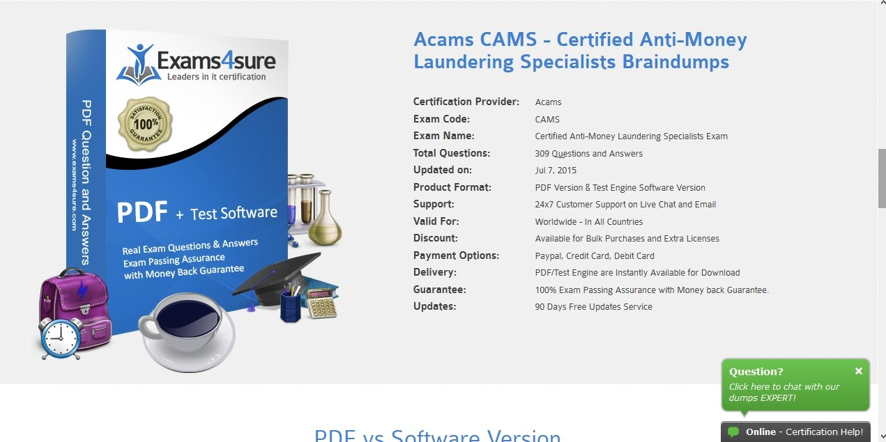Acams Study Guide, India, Professional Courses, Education