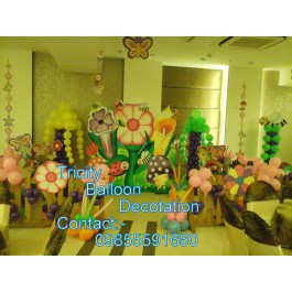 Anchor Tattoo Magice show Puppet show face panting Micky mouse game stall  theme party  helium ballo