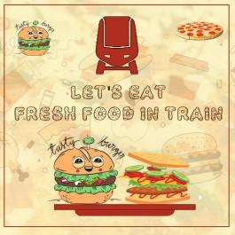 Online Food Order in Train