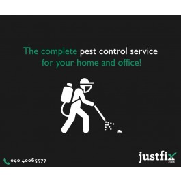 Pest Control Services in Hyderabad, Residential Pest Control Hyderabad – Justfix