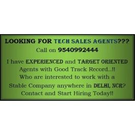 Tech Sales Agent in Delhi