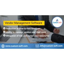 Best Vendor Management System by CustomSoft