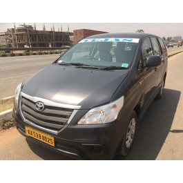 Book Innova cab/taxi for Outstation Trip - Per KM rate is 14rs