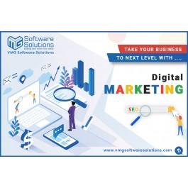 Digital Marketing Service in Gandhinagar | VMG Software Solutions