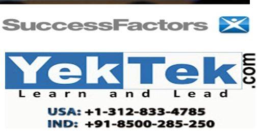 SAP Successfactor Online Training, India, कोचिंग